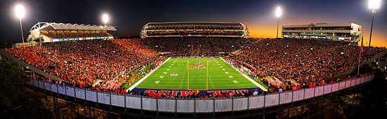 """Sunset Stadium"" by Robert Jordan, University of Mississippi."