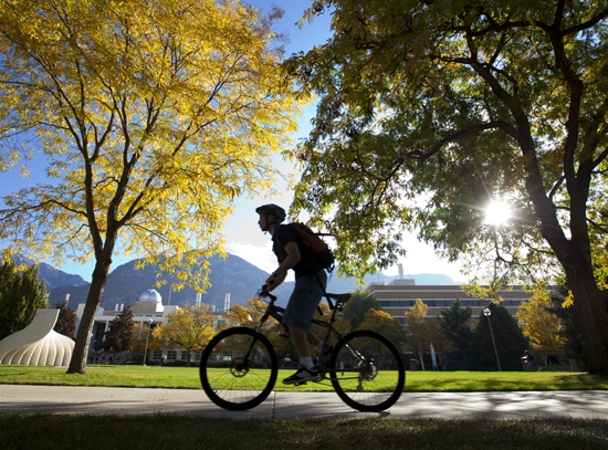 """Fall Rider"" by Jaren Wilkey, Brigham Young University."