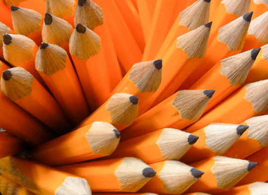 """Pencils"" by Les Schofer, Liberty University."