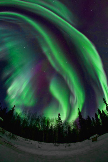 Awesome Aurora by Todd Paris, U Alaska Fairbanks