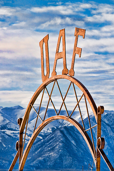 Iconic Sign by Todd Paris, U Alaska Fairbanks