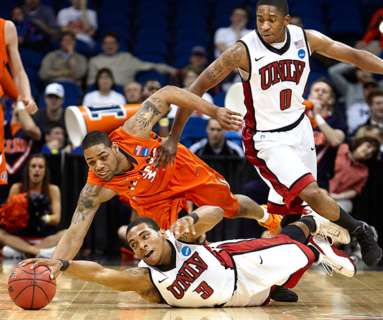 Loose Ball, R. Marsh Starks, UNLV